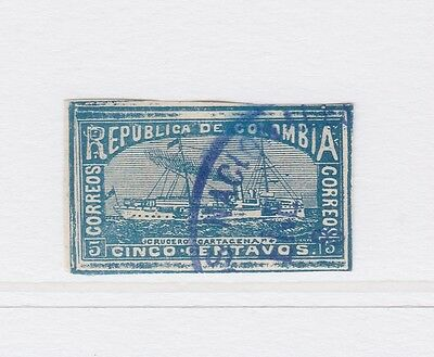 A2P58 COLOMBIA 1903-04 5c USED