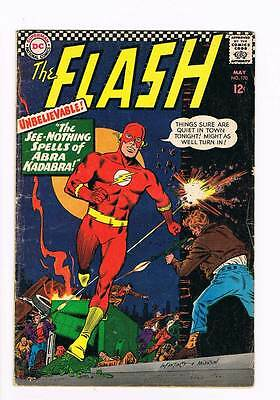 Flash # 170 The See-Nothing Spells of Abra Kadabra ! grade 4.0 scarce hot book !