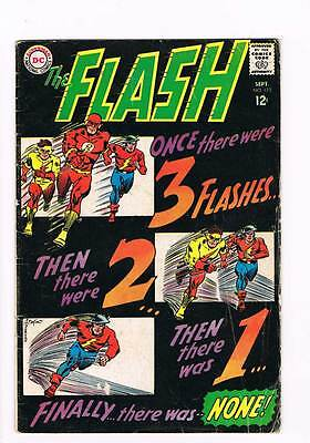 Flash # 173 Downward Flight of the Flashes ! grade 4.0 scarce hot book !