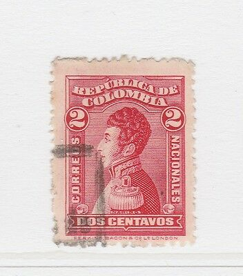 A2P58 COLOMBIA 1917 2c USED