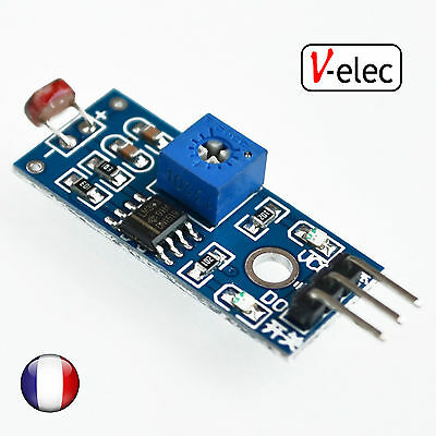 1003# Photosensitive Sensor Module Light Detection Module for Arduino