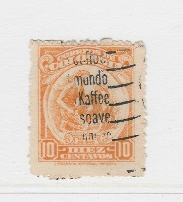 A2P58 COLOMBIA 1944 10c USED