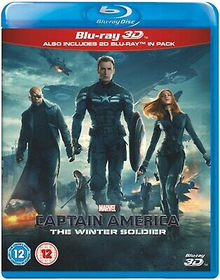 Captain America: The Winter Soldier (3D Edition with 2D Edition) [Blu-ray]