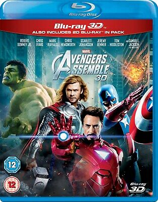 Avengers Assemble (3D Edition with 2D Edition) [Blu-ray]