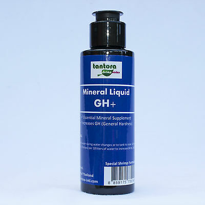 TANTORA LIQUID MINERAL GH+  Increases GH for Crystal Red Cherry Shrimp Tanks