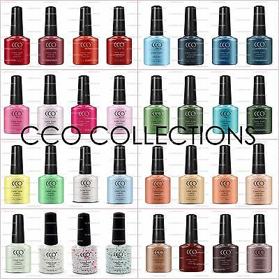 Cco Uv Led Nail Gel Polish Starter Set Kit Collection Colours Package