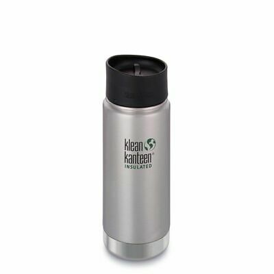 Klean Kanteen - Wide 473ml Insulated Brush Stainless - Café Cap