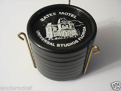 Bates Motel-Eight Hard Plastic Coasters with Stand-Universal Studios