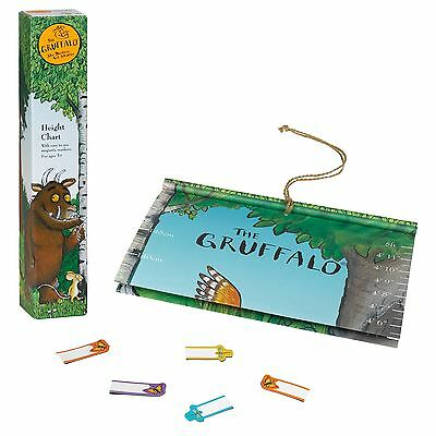 Gruffalo Height Growing Up Chart Easy to Use Magnetic Markers Kids Ages 3+