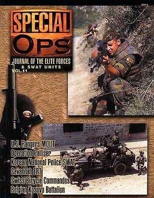 Special Ops Journal of the Elite Forces & Swat Units Volume 11 by Concord #5511