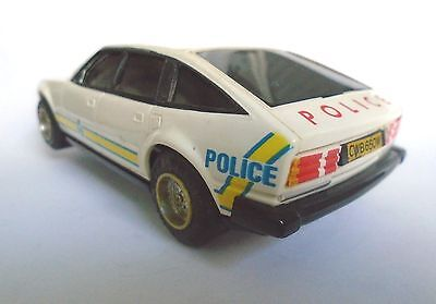Police Rover SDI classic scalextric vintage slot car 1981