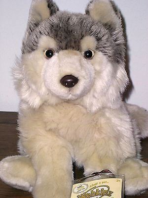 New Webkinz Signature Timber Wolf With Sealed Code Tag