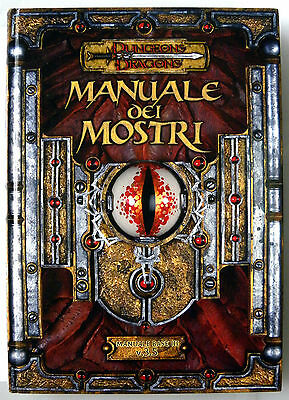 D&D 3.5 MANUALE DEI MOSTRI Dungeons&Dragons (Ottimo)