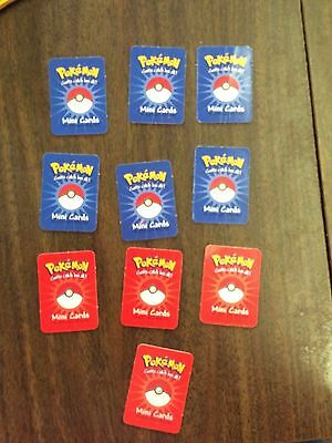 Pokemon S.S. Anne Game Replacement Mini Cards