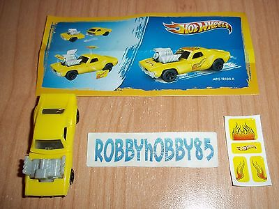 Tr130 A Variante Rodger Dodger + Bpz Kinder Messico 2013/2014 Hot Wheels