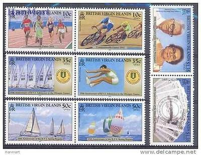 British Virgin Islands 2003 Anniversaries and Events MNH