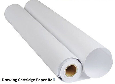 Frisk White Drawing Cartridge Paper Roll 150gsm - 10 Meters (841mm x 10m)
