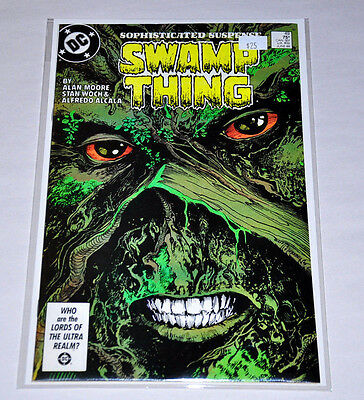 Swamp Thing 49 Alan Moore 1986 HIGH GRADE NM