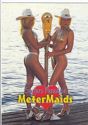 Postcard 1990's Meter Maids Surfers Paradise Queensland by Nucolorvue Product