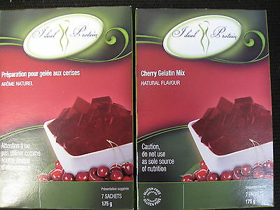 Ideal Protein Cherry Gelatin Mix  (2 Boxes Of 7)