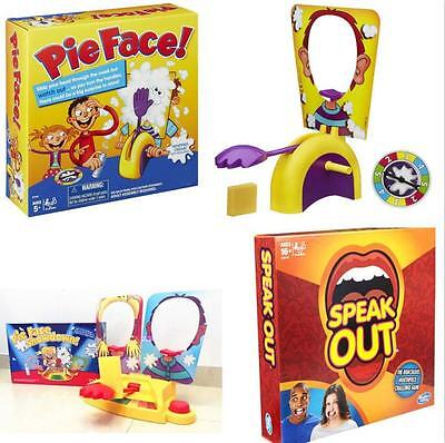 Hot Hasbro Pie Face Showdown Game Dual Challenge Family Time UK SELL Xmas Gift
