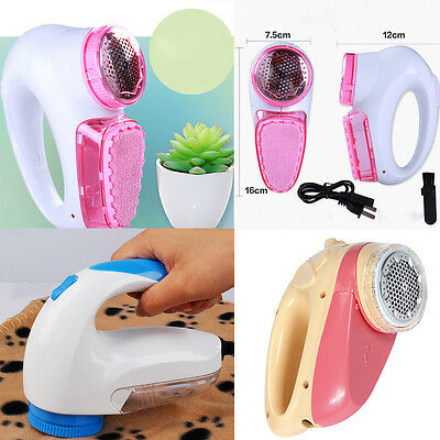 Portable Electric Sweater Clothes Lint Pill Fluff Remover Fabrics Fuzz Shavers