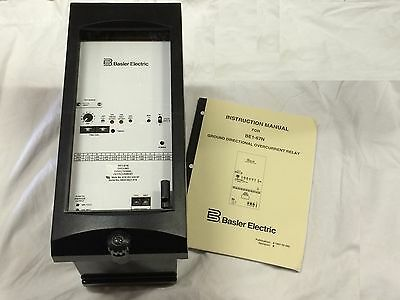Basler Electric Be1-67N A1E-Z2J-A3C5F Ground Directional Overcurrent Relay New