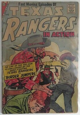 1957 Texas Rangers In Action #8    G      (Inv2808)