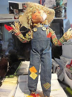 """Annalee 14""""  Scarecrow # 351815  Brand New All Tags and Annalee Bag Retired"""