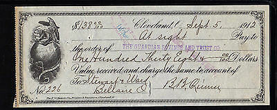 1912 The Guardian Savings And Trust Co. - Clevland, Ohio