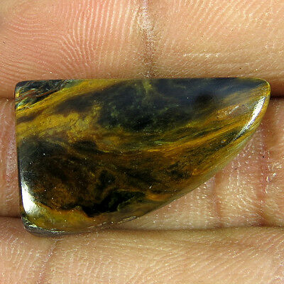 22.15cts 100% NATURAL DESIGNER BEAUTIFUL QUALITY PIETERSITE FANCY CABOCHON
