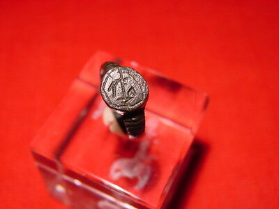MEDIEVAL - SEAL RING - 15-16 th century ! NICE ! RARE !