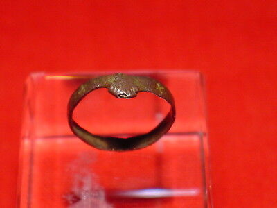 MEDIEVAL - FREND / WEDDING RING - 13-14 th century ! NICE ! RARE !