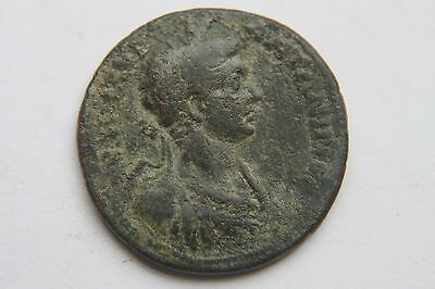 LARGE ANCIENT ROMAN PROVINCIAL TEMPLE COIN of GETA  3rd CENTURY AD