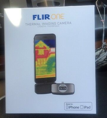 100% Genuine FLIR ONE Thermal Imaging Camera for iOS Devices iPhone5 5s 6 6s 6+
