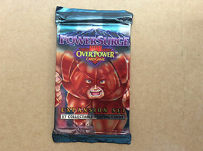 Marvel Overpower Expansion Set Power Surge 1995