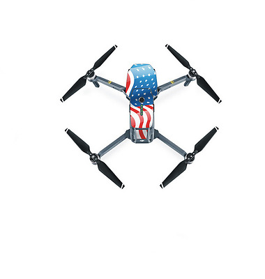 USA PVC Stickers Decals Parts For DJI Mavic Pro Drone RC FPV Quacopter