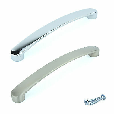 Beau Chrome Kitchen Cabinet Door Handles Cupboard Drawer Bedroom Furniture Pull  M6
