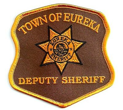 Eureka Deputy Sheriff Patch original Replica - Uniform Aufnäher
