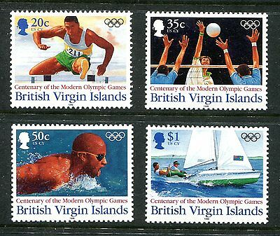 British Virgin Islands 1996 Olympic Games MNH