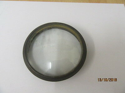 Bezel And Glass From A French Drum Movement/French clock, Late Victorian