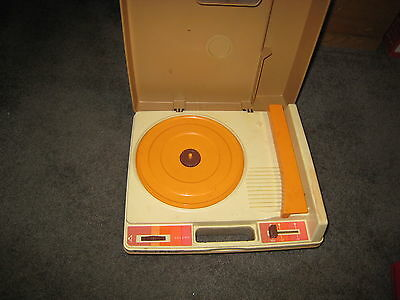 Vintage Fisher Price Phonograph Portable Record Player parts only