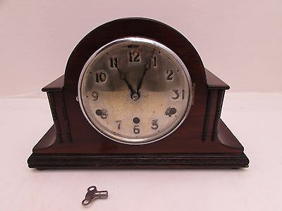 Antique Westminster Chimes Mantel Clock Anvil Movement All Original