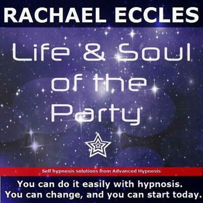 Be the Life & Soul of the Party, Social Confidence Hypnotherapy Hypnosis CD