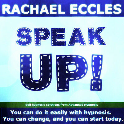Speak Up, Confident Public Speaking  Self Hypnosis, Hypnotherapy CD