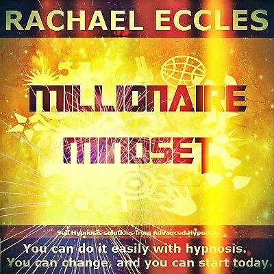 Millionaire Mindset, Self Hypnosis, Hypnotherapy CD, Rachael Eccles