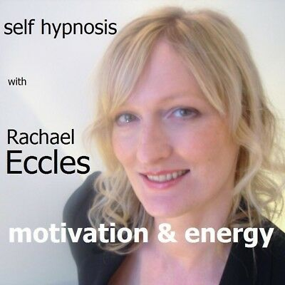 Self Hypnosis: Motivation & Energy Hypnotherapy CD, Rachael Eccles