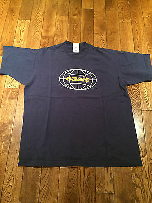 Oasis Concert T-Shirt Be Here Now All Around the World Rare Vintage Original