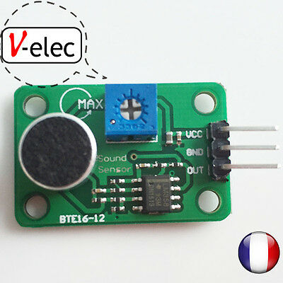1110# 3pin Voice Sound Detection Sensor Module for Arduino