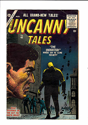 Uncanny Tales #46   VG/FN